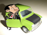 Mr. Bean with Mini